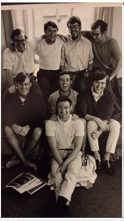 1969-70 roommates (Dave DeCoursey at top left)